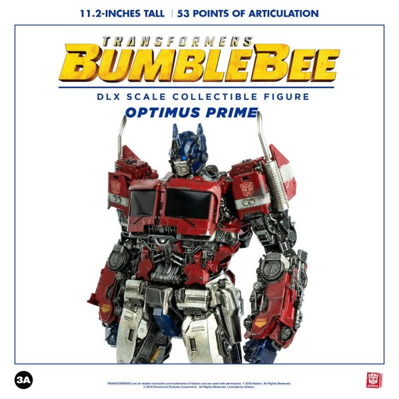 Bumblebee DLX Scale Action Figure Optimus Prime 28 cm
