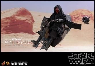 Star Wars Episode I DX Series Action Figure 1/6 Darth Maul & Sith Speeder 29 cm