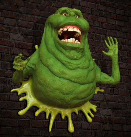 Ghostbusters Life-Size Wall Sculpture Slimer 102 cm