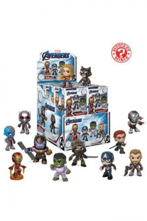 Avengers Endgame Mystery Minis Vinyl Mini Figures 6 cm Display (12)