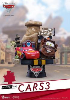 Cars 3-  D-Select PVC Diorama 13 cm - Beast Kingdom