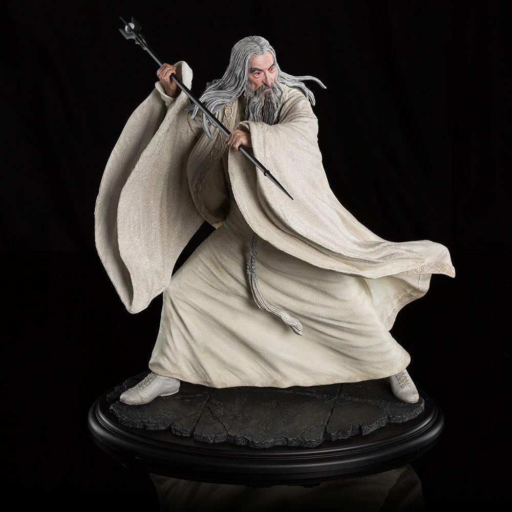Hobbit Statue 1/6 Saruman the White at Dol Guldur 35 cm
