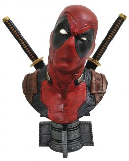 Legendary Comics Marvel Bust 1/2 Deadpool 25 cm