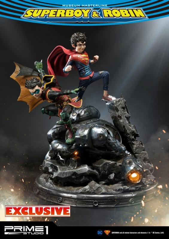 DC Comics Statues 1/3 Superboy & Robin + Superboy & Robin Exclusive 64 cm Assortment (3)