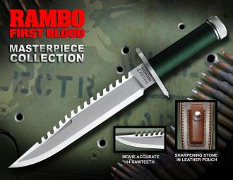 First Blood Replica 1/1 Knife Masterpiece Collection Standard Edition 36 cm - HCG