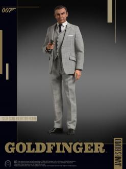 James Bond Goldfinger (grey suit) 30cm