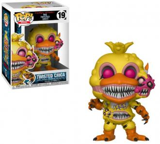 Five Nights at Freddy's The Twisted Ones POP! Books Vinyl Figure Twisted Chica 9 cm