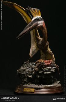 Paleontology World Museum Collection Series Statue Quetzalcoatlus Yellow Ver. 51 cm