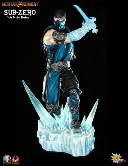 Mortal Kombat: Sub-Zero - Statue 1/4 - Pop Culture Shock