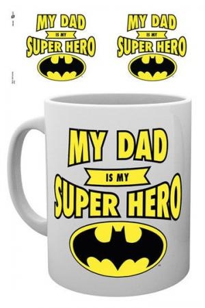 DC Comics Mug Batman Dad Superhero