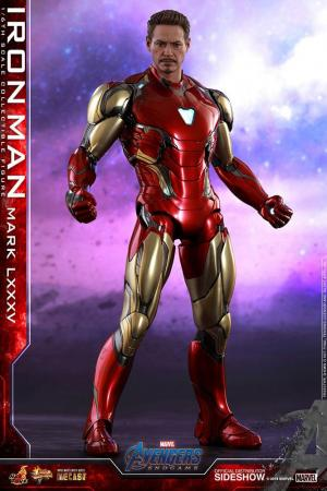 Avengers: Endgame Movie Diecast Action Figure 1/6 Iron Man Mark LXXXV 3