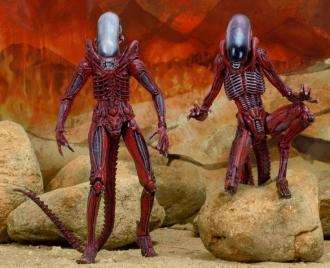 Aliens Genocide Action Figure 2-Pack Big Chap & Dog Alien 23 cm