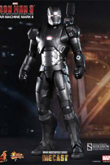 Avengers War Machine Mark II 30 cm Iron Man 3 Diecast