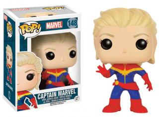 Marvel Comics POP! Vinyl Figure Captain Marvel 9 cm