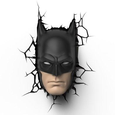 DC Comics 3D LED Lampička Batman Mask