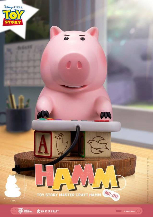 Toy Story Master Craft Statue Hamm 28 cm