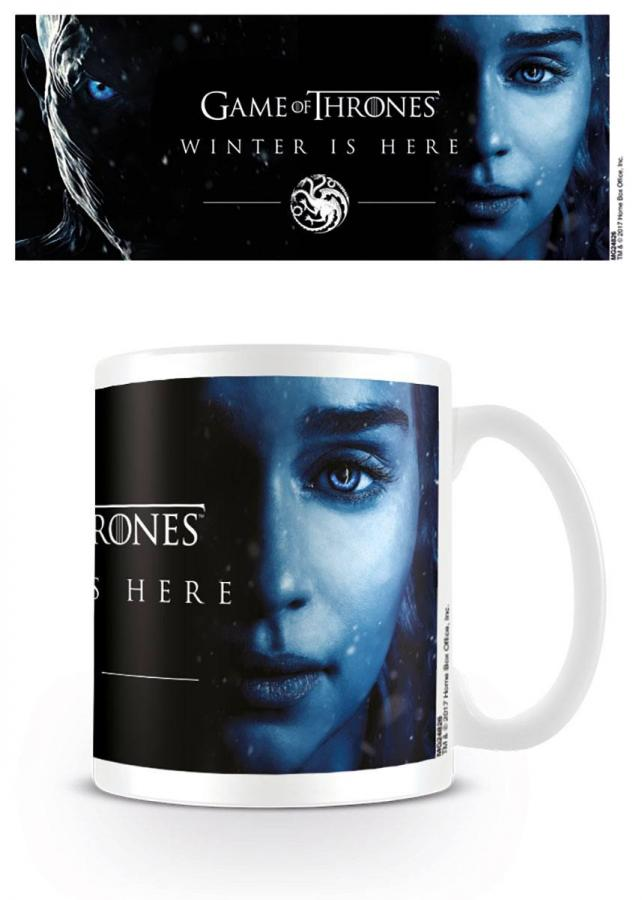 Game of Thrones Mug Winter Is Here - Daenereys