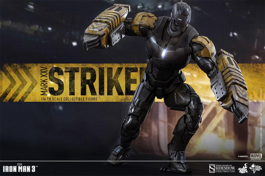 Iron Man Mark 25 Striker 30 cm, Iron Man 3 HOT TOYS ...