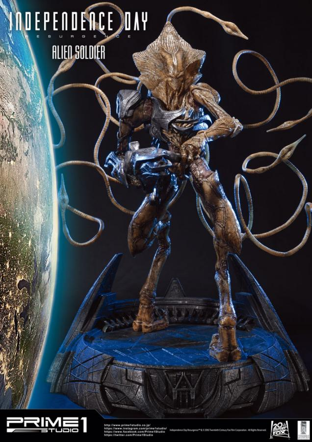 Independence Day Resurgence Statue Alien Soldier 81 cm